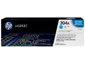 Toner Original Hp Cc531ac 304a Cyan | Hp Color Laserjet Cm2320 Cm2320n Cp2020 Cp2025 Cp2025dn | 2.8k