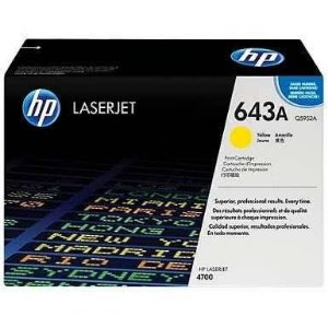 Toner Original Hp Q5952a 643a Yellow 4700dn 4700 10k