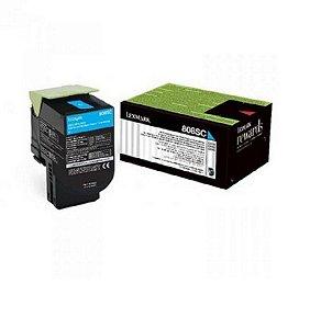 Toner Original Lexmark 808 808sc 80c8sc0 Cyan Cx310 Cx410 Cx510| 2K