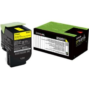 Toner Original Lexmark 808xy 80c8xy0 Yellow | Lexmark Cx510 Cx510de Cx510dhe | 4k
