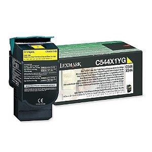 Toner Original Lexmark C544x1yg Yellow | Lexmark C544 C546 X544 X546 X548 | 6k