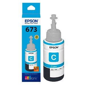 Refil Tinta Epson T673 T673520 Light Cyan L800 L810 L1800 L805 70ml
