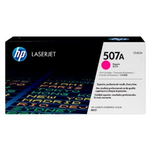 Toner Original Hp Ce403ac 507a Magenta | Hp LaserJet Enterprise 500 Color M575f M575c M570 M551 | 6k