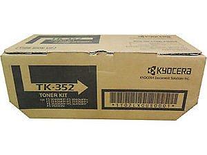 Toner Original Kyocera Tk352 Tk-352 Tk350 Fs3920DN Fs3040MFP Fs3140MFP FS3640 MFP 15k