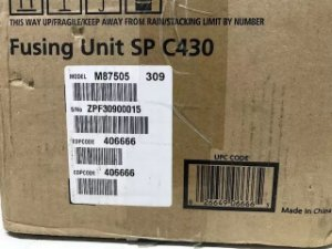 Fusor Ricoh Sp C430 431 435 C440 C435 C431 406666 Original