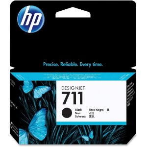 Cartucho Original Hp 711 Preto CZ129A Plotter T120 T520 CQ891A CQ890A CQ893A 37ml