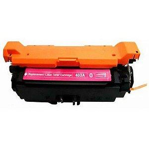 Toner Compatível Ce253a Ce403a Magenta 507a Cp3525 Cp3530 M570 M575 M551 6K
