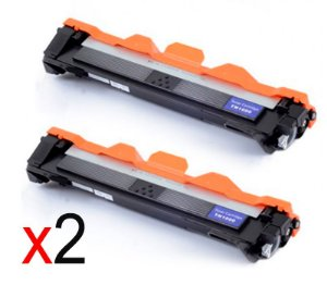 kit 2 un Toner Compatível Brother Tn1060 Tn-1060 Tn1000 HL1202 1212 1512 DCP1602 1617 Evolut 1K