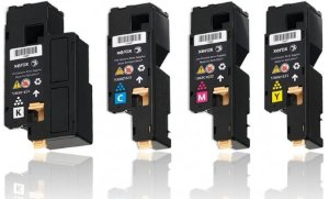 kit 4 un Toner Compatível Xerox 106R01631 | 2 | 3 | 4 Phaser 6000 6010 6015 K M C Y