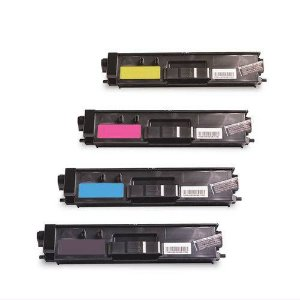kit 4 Un Color B C Y M Toner Compatível Brother Tn319 Tn329 Cyan  HL8850CDW MFC8450CDW DCP8250CDN 8350 Chinamate 6k