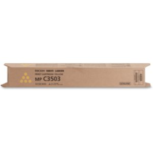 Toner Original Ricoh 841814 Yellow Mp C3003 C3004 C3503 C3504 18k