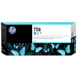 Cartucho Original HP Plotter F9K17A Hp 728 Cyan T730 T830 300 Ml