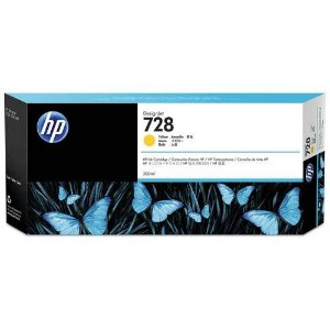Cartucho Original HP Plotter F9K15A Hp 728 Yellow T730 T830 300 Ml