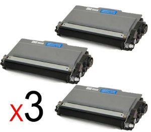 kit 3 un Toner Compatível Brother Tn2370 Tn-2370 Tn2340 Tn660 Tn630 2320 2360DW 2740DW 2.6K