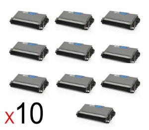 kit 10 un Toner Compatível Brother Tn2370 Tn-2370 Tn2340 Tn660 Tn630 2320 2360DW 2740DW 2.6K