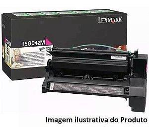 Toner Original Lexmark 15g042m Magenta X752 X762 C752 C762 15k