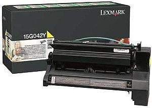 Toner Original Lexmark 15g042y Yellow X752 X762 C752 C762 15k