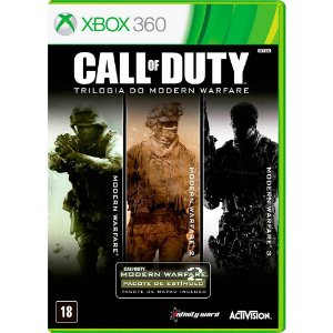 Game Call Of Duty Modern Warfare Trilogia - Xbox 360