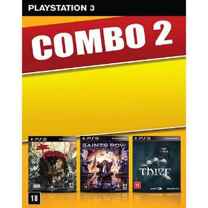 Game Dead Island: Riptide + Saints Row IV + Thief - PS3