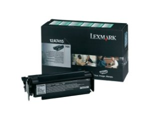 Toner Lexmark Original 12a7415 Black  Optra T420d T420dn