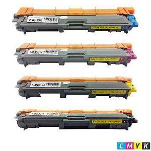 kit 4 un Toner Compatível Brother Tn221 Hl3140 Hl3170 Mfc9130 Mfc9330 Mfc9020