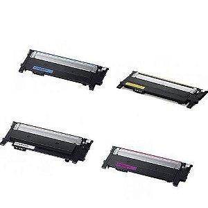 kit 4 un Toner Compatível Samsung CLT-404S 404 404s  C430 C430W C433W 480