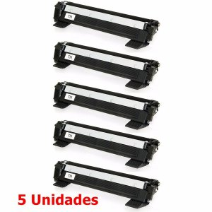kit 5 un Toner Compatível Brother Tn1060 Tn-1060 Tn1000 HL1202 1212 1512 DCP1602 1617 1K