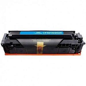 Toner Compatível  Cf501x 202X Azul M281 M254 M281FDW M254DW Chinamate 2.5k Alto Rendimento