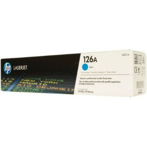 Toner Original Hp Ce311a Ce-311a 126a Cyan Hp LaserJet Color Cp1020 Cp1025 | 1k