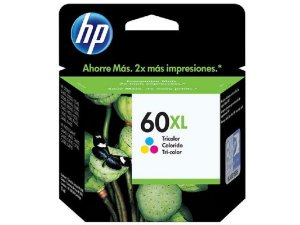 Cartucho Original Hp 60xl Color Cc644wb D1660 D2560 F4580 F4280 C4680 C4780 12,5ml Venc 12-2015