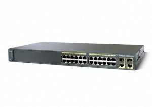 Switch 24 portas Cisco Catalyst 2960 Plus C2960 WS-C2960+24TC-BR