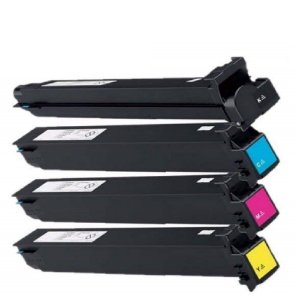 Kit 4 un Toner Compatível Sharp MX-31 Black Cyan Yellow Magenta MX2600 MX3100 MX4100 MX4101 MX5001 Isd 10k