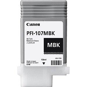 Cartucho Original Canon Pfi-107MBK Matte Black IPF670 IPF680 IPF685 IPF780 IPF785 IPF770 130ml