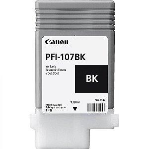 Cartucho Original Canon Pfi-107BK Black IPF670 IPF680 IPF685 IPF780 IPF785 IPF770 130ml