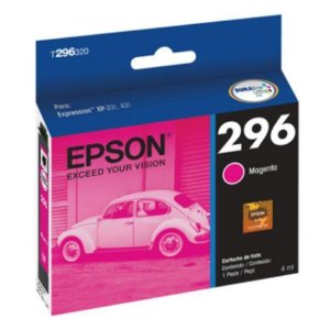 Cartucho Original Epson 296 T2963 T296320 MAGENTA XP-231 XP-241 XP-431 XP-441 4ml