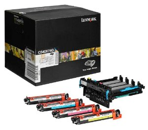 Kit Imagem Original Lexmark C540x74g Black and Color C540 C543 C544 X543 X544 X546 X548 30k