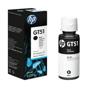 Refil Tinta Hp Original M0H57AL Black GT51 GT-51 GT5822 GT416 412 GT116 316 116 90ml