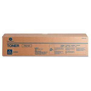 Toner Original Konica Minolta Tn210 Tn210c Cyan Bizhub C250 C252 12k