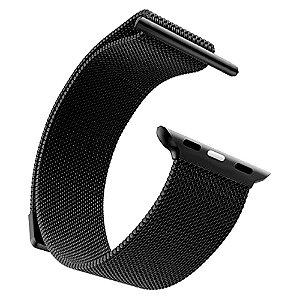 Pulseira Milanese Para Apple Watch 42mm - Preta
