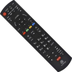 Controle Panasonic Remoto Smart Tv Led Lcd | Tc-32 Tc-42 Tc-29 Th-42 Vc8182 com pilhas