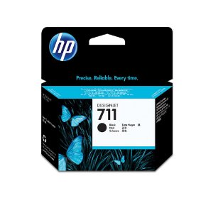 Cartucho Original Hp 711 Black CZ133A T520 T120 CQ890A CQ891A CQ893A 80ml