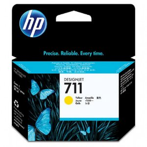 Cartucho Original Hp 711 Yellow CZ132A T520 T120 CQ890A CQ891A CQ893A 29ml
