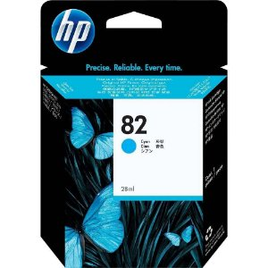 Cartucho Original HP 82 Cyan C4911a C4911ab 69ml