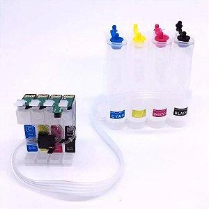 Bulk Ink Epson TX120 T25 TX135 TX320 TX125 T22  c/chip Reset