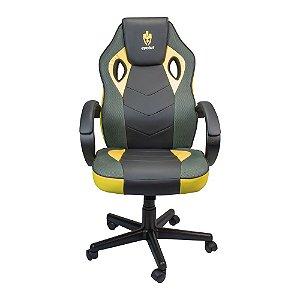 Cadeira Gamer Evolut EG-901 Amarelo C/ Preto