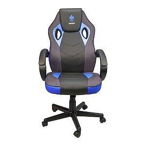 Cadeira Gamer Evolut EG-901 Azul C/ Preto