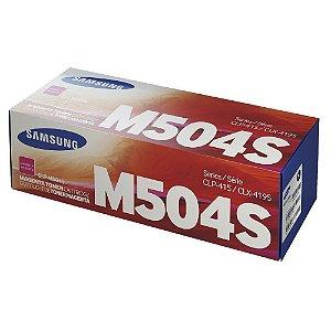 Toner Original Samsung M504s 504s CLT-M504S Magenta CLP415 Clx4195 C1810 C1860 C1404 C1454 1.8k