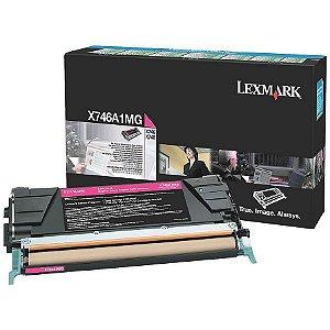 Toner Original Lexmark X746a2mg Magenta X746 X748 7k