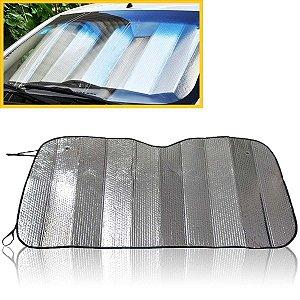 Protetor Solar Para-brisa Quebra Sol Térmico Laminado 56x128cm C/ventosa