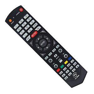 Controle Remoto Para Tv Semp Toshiba Lcd / Led Sti Ct-6610 Vc8089